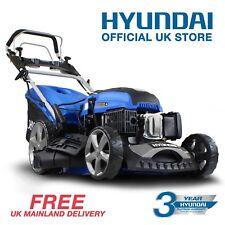 ELECTRIC START Petrol Lawn Mower Self Propelled 173cc 51cm Hyundai Lawnmower