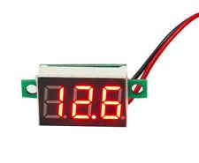 Mini Digital Voltmeter DC 0.36'' 2.5V - 32V  Spannungsanzeige, Rote LED