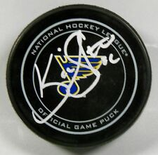 KEVIN SHATTENKIRK Signed ST LOUIS BLUES OFFICIAL GAME HOCKEY PUCK 1007136