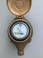 "Rockwell 3/4"" SR Brass Water Meter Cubic Feet NEW"