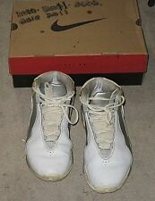 NIKE SHOX TURBO HIGH TOP WHITE MENS SNEAKERS