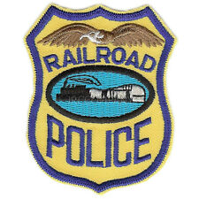 Patch- RAILROAD POLICE- NEW #22304