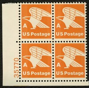 #1735c 'A' Eagle, Plate Block [35770 LL], Mint **ANY 5=FREE SHIPPING**
