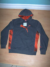 PUMA Big Cat Womens Long Sleeve Pullover Thermal Insulation Hoodie Size M (NWT)