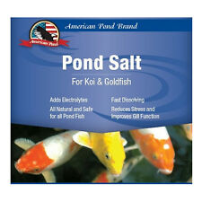 Koi Pond Salt Water Treatment- Dry 10LB - Pond care  - Treats 3,200 Gallons
