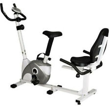 Magnetic Recumbent 2 In 1 Exercise Bike, Adjustable Resistance Home Gym Fitness