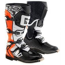 GAERNE REACT ORANGE FLUO COLOURWAY motocross enduro boots