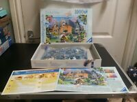 Ravensburger Snowdrop Cottage Jigsaw Puzzle - 1000 Piece- Complete