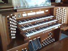 Allen ADC-6300A Three Manual Digital organ w/MIDI, 6 Speakers, Drawstop Console