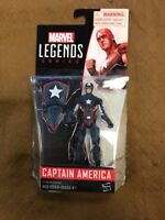 Marvel Legends Series Captain America With Shield Used In Box