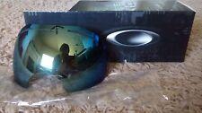 new OAKLEY AIRBRAKE REPLACEMENT lens EMERALD IRIDIUM 01-359 snow goggles