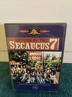 Return of the Secaucus 7 - DVD - VERY RARE OOP MGM