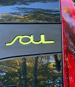 Kia Soul 2020 2021 2022 side decal insert inlays stickers pair
