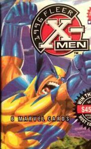 1996 FLEER X-MEN FACTORY SEALED PACK~ MARVEL CARDS~1 pk ~Lo s&h