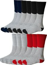 Mens Thermal Socks 12-pack Ultra Warm Thick Boot Socks Fits Shoe Size 7-13