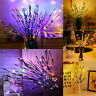 Tree Branch Shaped 20 LED Lights Xmas Wedding Party Decor Fairy String Lamps