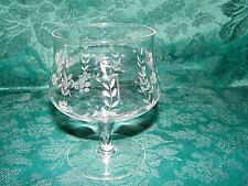 Etched Crystal Shrimp Coctail/Dessert Dishes Set of 4