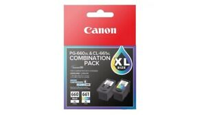 Genuine Original Canon 660XL OR 661XL High Yield OR Combination Pack