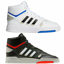 adidas Originals Drop Step Herren-Sneaker Basketballschuhe Knöchelhohe Schuhe