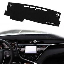 Black DashMat Dash Mat Cover Dashboard Car Interior Pad For TOYOTA CAMRY 18&up
