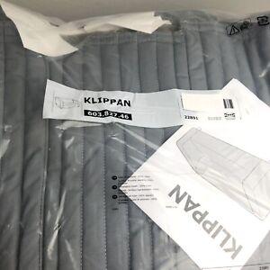 IKEA KLIPPAN Padded Loveseat Slipcover Lyckebyn Gray 603.827.46 Discontinued