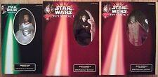 "Star Wars Portrait Edition 12"" Princess Leia & (both) Queen Amidala figure set"