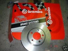 FORD ESCORT 2.0RS 91> BREMBO FRONT BRAKE DISCS NEW