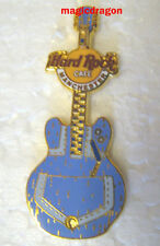 Hard Rock Cafe MANCHESTER Denim Guitar Pin .