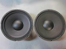 "NEW (2) 12"" Woofer Speakers PAIR.twelve inch PA.8ohm.Replacement.Drivers.DJ BASS"
