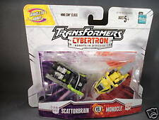 2005 Hasbro Transformers Cybertron Scattorbrain and Monocle