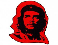 CHE GUEVARA face cut out  2007 - shaped WOVEN SEW ON PATCH no longer made