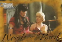 Xena B8 Words From The Bard card Quotable