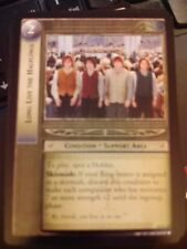 Lord of the Rings CCG Black Rider 12R124 Long Live The Halflings LOTR TCG