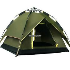 Double Layer Rainproof Automatic Tent Outdoors Instant Camping Tent 2-4Person US