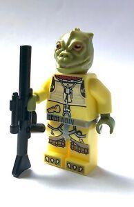 LEGO Star Wars Minifigure Bossk Bounty Hunter & Long Blaster 75167 **New**