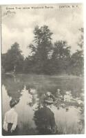 Postcard Grasse River Below Woodcock Rapids Canton NY