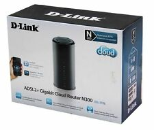 D-Link ADSL2+Gigabit Cloud Router N300 DSL-2770L mydlink Cloud USED