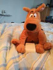 "Hallmark Scooby Doo Talking Plush Brown Stuffed Animal Battery Operated 9"" tall"