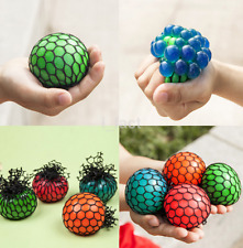 1PCS Anti Stress Face Reliever Grape Ball Autism Mood Squeeze Relief Toy  US