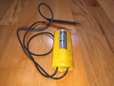 Vintage Ideal Industries Inc Voltage Tester Product No 61 005 Works
