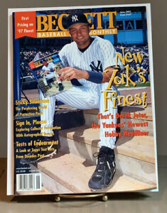 Derek Jeter Beckett Card Monthly June 1997 Issue #147