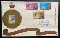 1962 Hong Kong First Day cover FDC Postage Stamp Centenary
