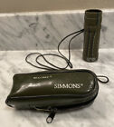 Vintage Simmons Monocular Camo Field Hunting Realtree Case