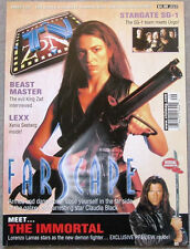 "TV ZONE #129 August 2000 ""Farscape: Armed and Dangerous...""  Magazine"