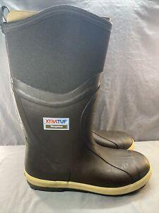Men's Xtratuf Legacy Neoprene 010019C Fishing Boots US SIZE 15