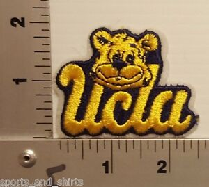 1980's UCLA BRUINS UNIVERSITY OF CALIFORNIA LOS ANGELES  VINTAGE PATCH