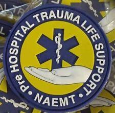 Pre HOSPITAL TRAUMA LIFE SUPORT  - NAEMT  3D PVC PATCH