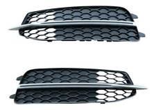 Links + Rechts Audi A6 4G C7 2010-5/2015 Original Audi S-Line Stoßstange Gitter