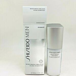 Shiseido Moisturizing Emulsion for Men - 3.3oz/100ml - NIB