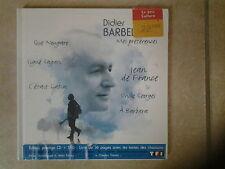 27975//DIDIER BARBELIVIEN  MES PREFERENCES CD + DVD NEUF EDITION PRESTIGE RARE